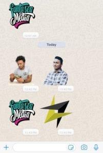 custom whatsapp stickers miami