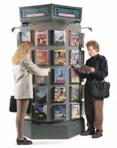 old advertising method energy wasting kiosk