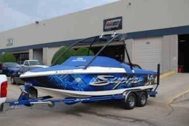 miami vinyl decal business fantasea media custom boat graphics jet ski vinyl wraps
