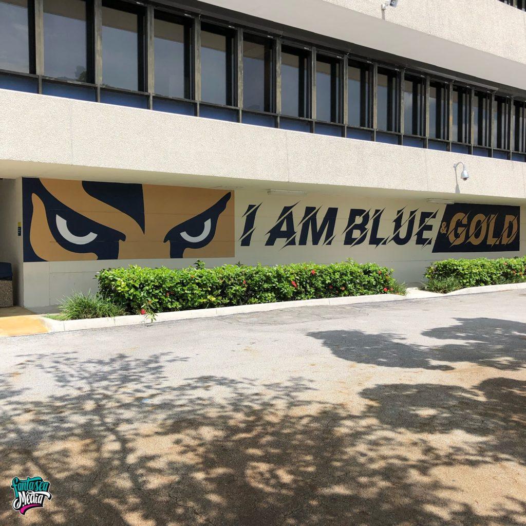 florida international university FIU school outdoor graphics mascot
