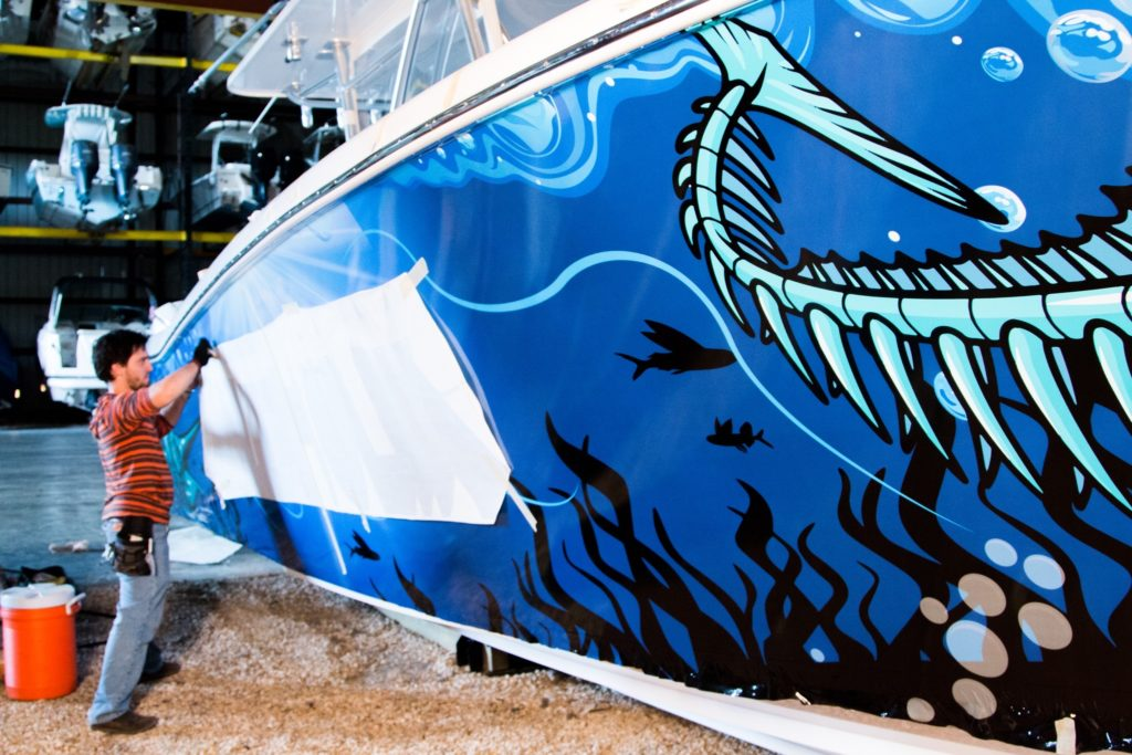fantasea media marcello boat wrap inkaholik tattoo