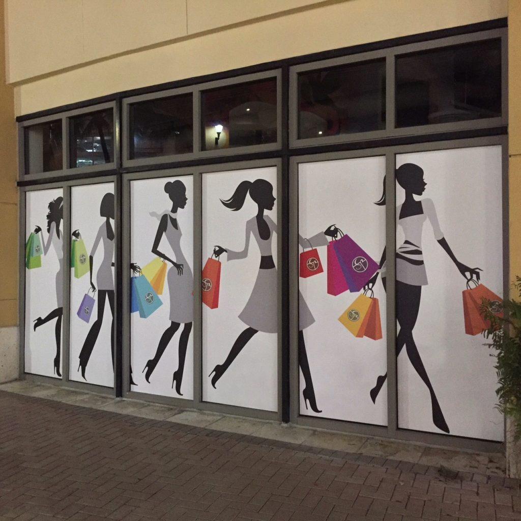 miami Storefront window graphics