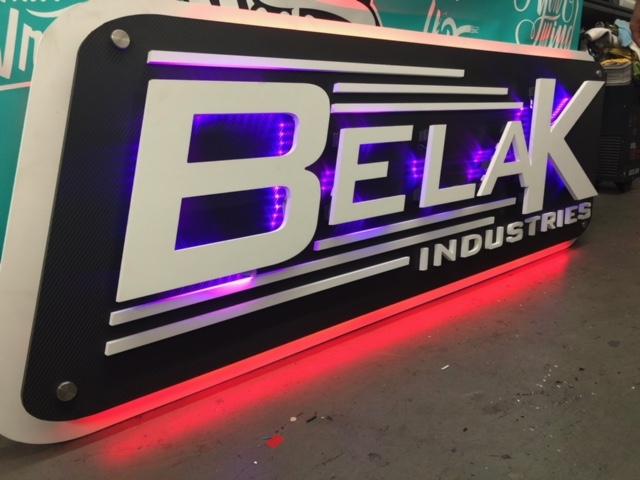 belak industries signage by fantasea media
