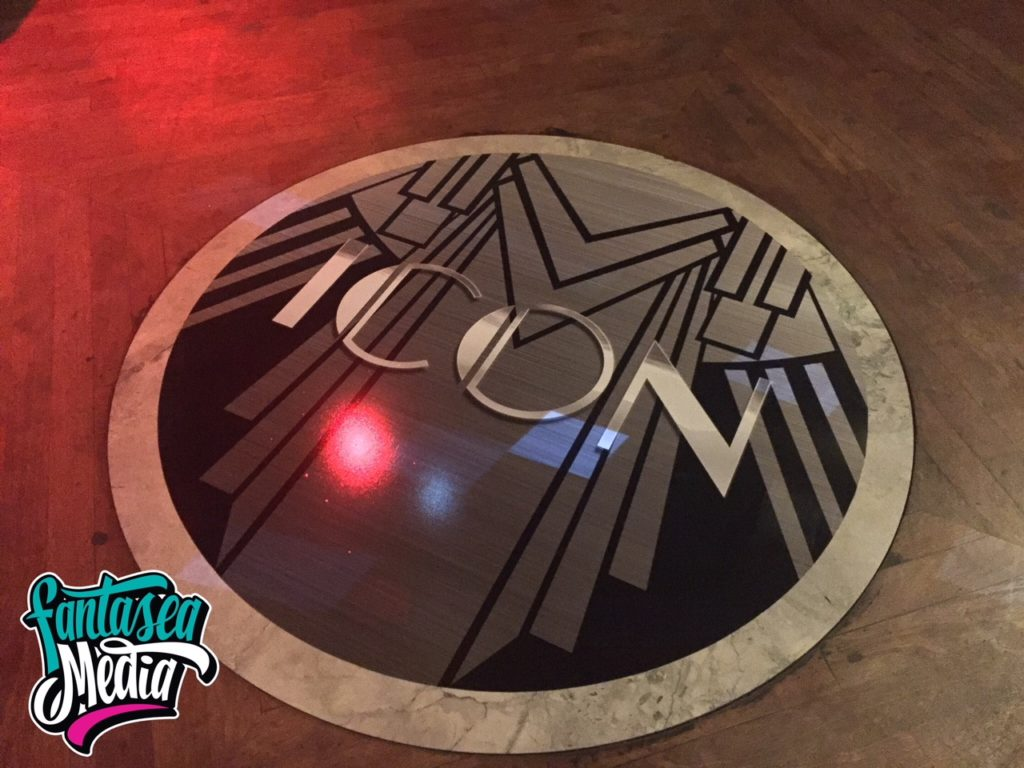 miami icon floor decal fantasea media