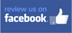 review us on facebook with fb thumbs up