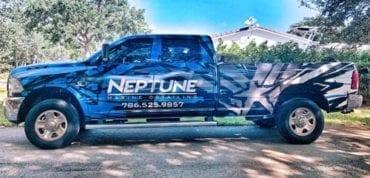 Neptune Vehicle Vinyl Wrap by Fantasea Media