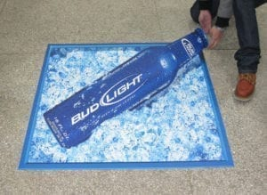 Generate Leads Floor Vinyl Wrap Product Advertising