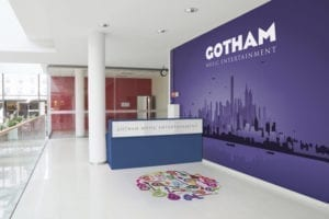 miami entrance storefront wall decals floor wraps branded signage