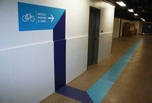 way finding directional signage wall wraps floor decals miami creative design