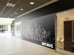 storefront signage cheap advertising miami floor graphics wall wraps