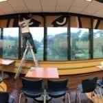 Custom Window Decals for Schools Universities www.fantasea-media.com