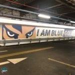 wall graphics schools university pride custom mascot design vinyl wraps
