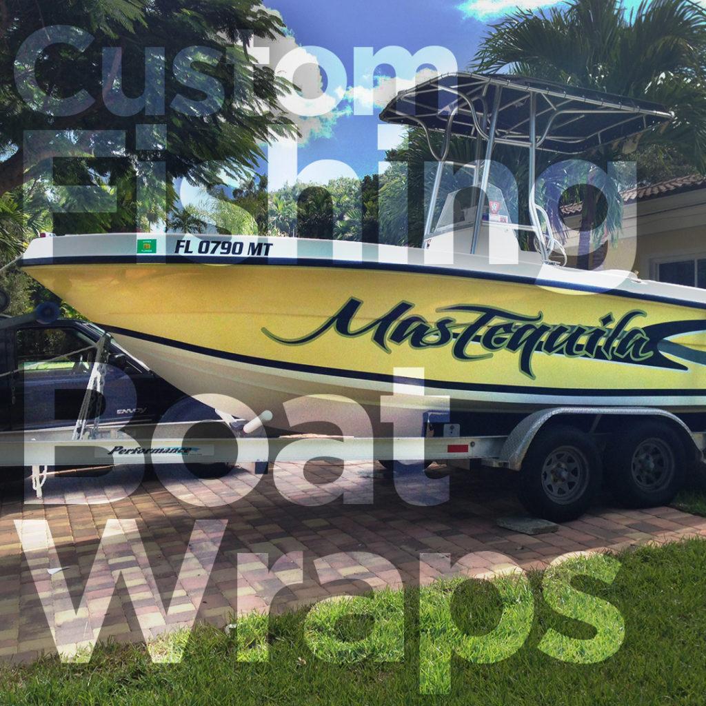 Custom Fishing Boat Wraps Fantasea Media