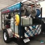 miami trailer truck vinyl vehicle wraps fantasea media reflective illuminite wrap