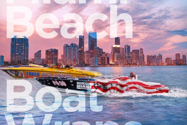 miami beach boat wraps blog fantasea media