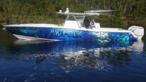 inkaholik boat wrap
