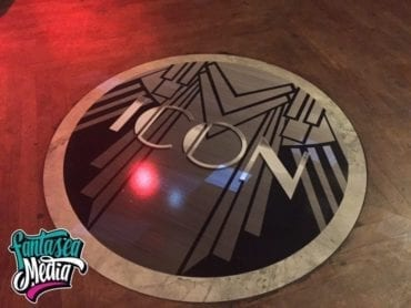 Miami Custom Floor Stickers by Fantasea Media