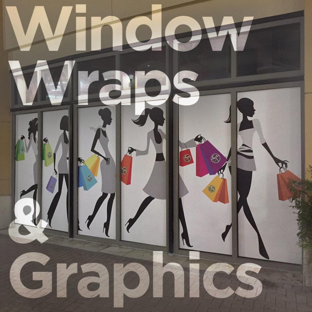 Window Wraps and Graphics miami by Fantasea Media