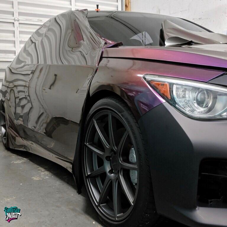 color change wraps coloflow colorflow vehicle wrap installation miami