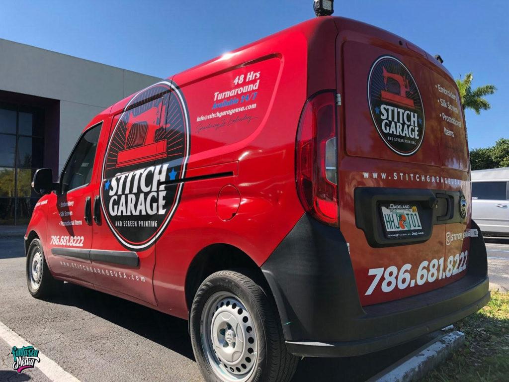 stitch garage full wrap fantasea media