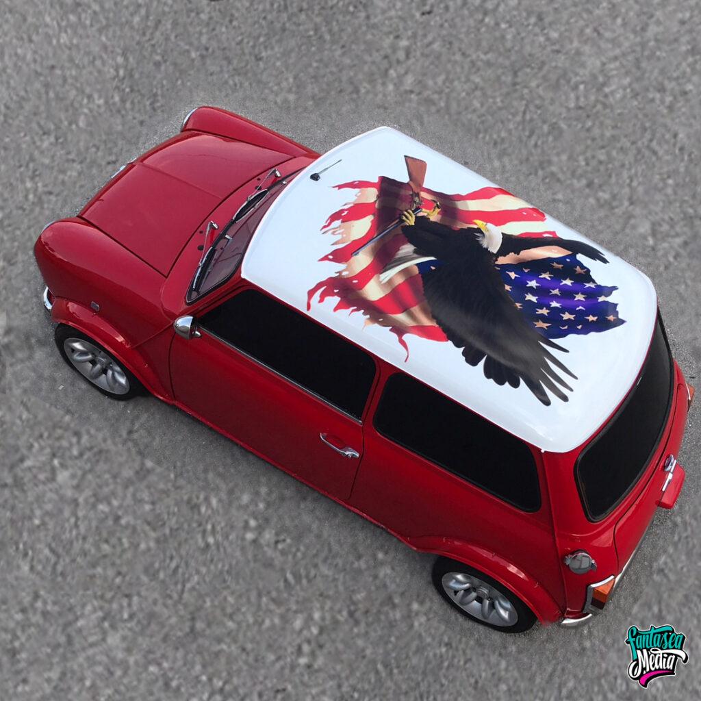 wraps for mini kid tike cars miami
