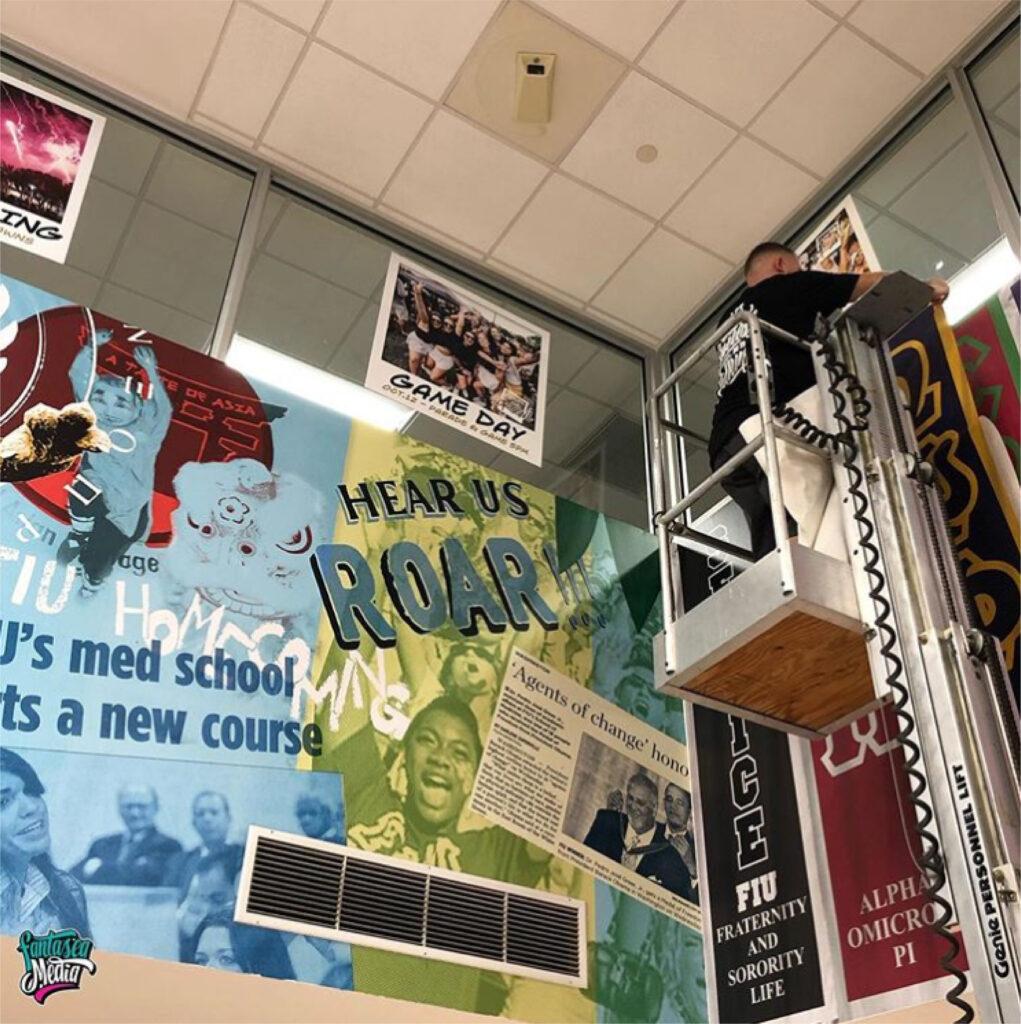 fantasea media wrapping florida international university